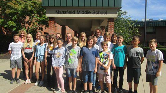 Austausch mit der Mansfield Middle School