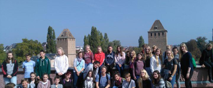 Sarstedter Französischschüler erkunden Straßburg