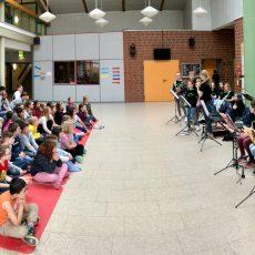 Bläserklassen ON TOUR in Sarstedter Grundschulen