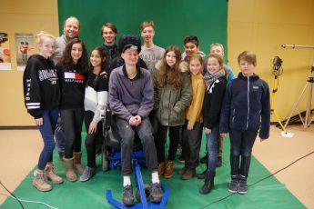 Film-AG trifft blinden Erfinder