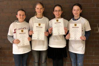 GySar-Teams zeigen tolle Leistungen beim Bolyai-Wettbewerb