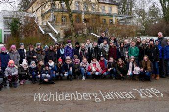 LittleWINDS und Bläserklasse 5 auf dem Wohldenberg