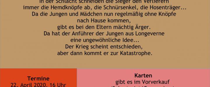 """Krieg der Knöpfe"" am Gysar!"